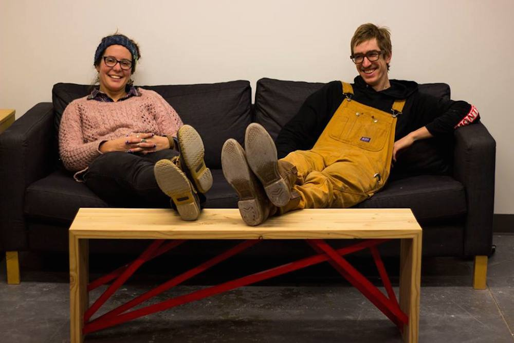 The core members of the Public Workshop team (Building Heroes) designed a series of unique benches to be installed throughout the city and sold to raise money for future projects.