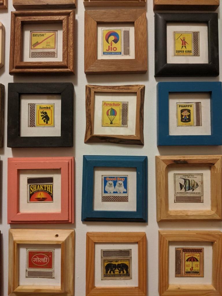 Match Box Frames