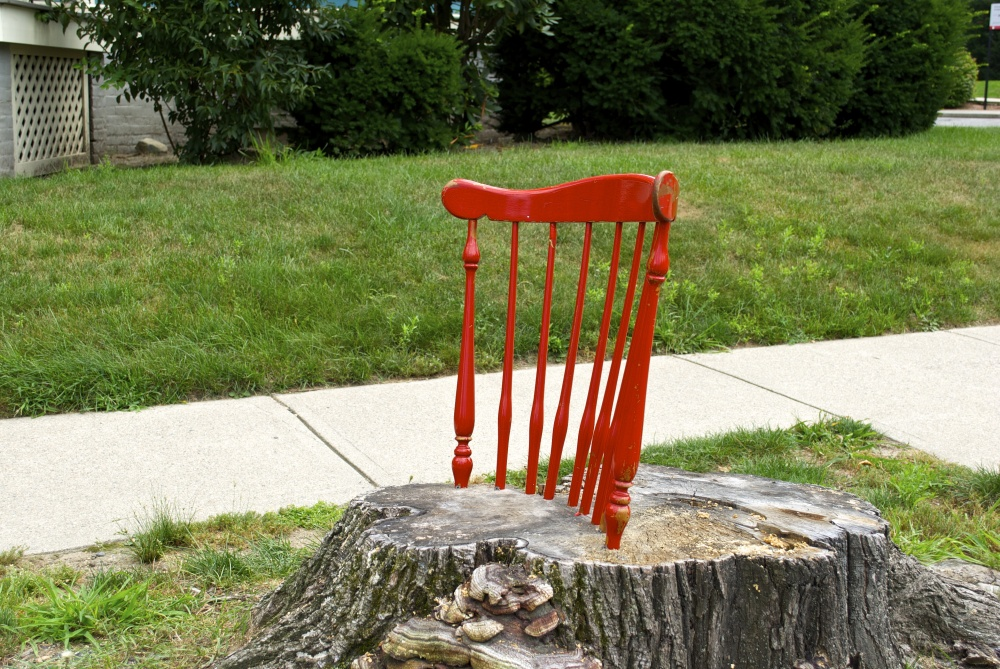 A chair for Hope Street