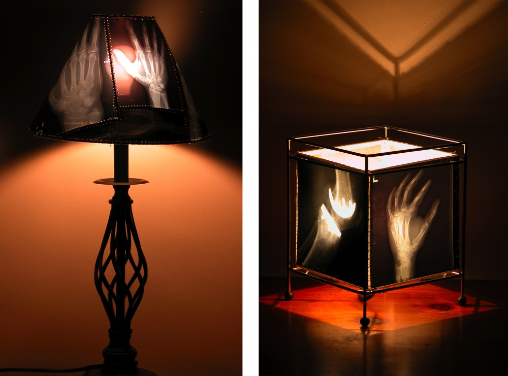 X-Ray lamp shades